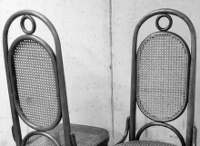 rattan chair_bw