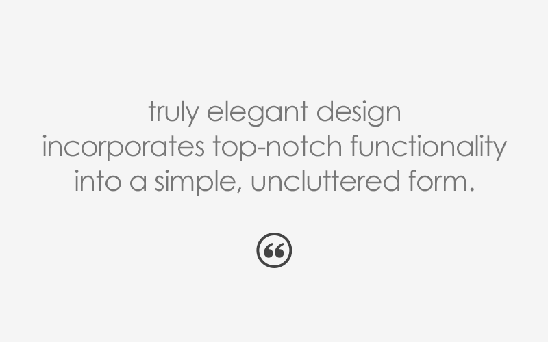 quote-truly-elegant-design