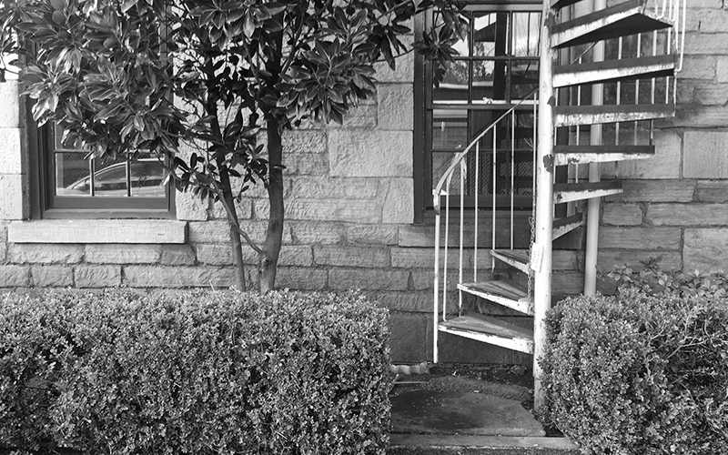 stairway to bw